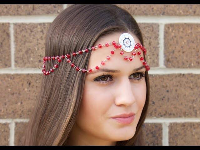 Bohemian Mandala Headband +DIY