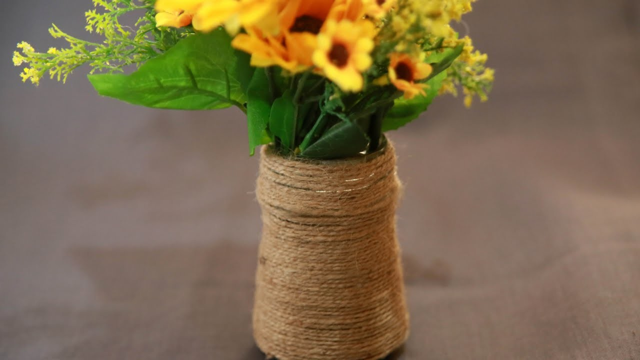 Create an Up-cycled Bottle Vase - DIY  - Guidecentral
