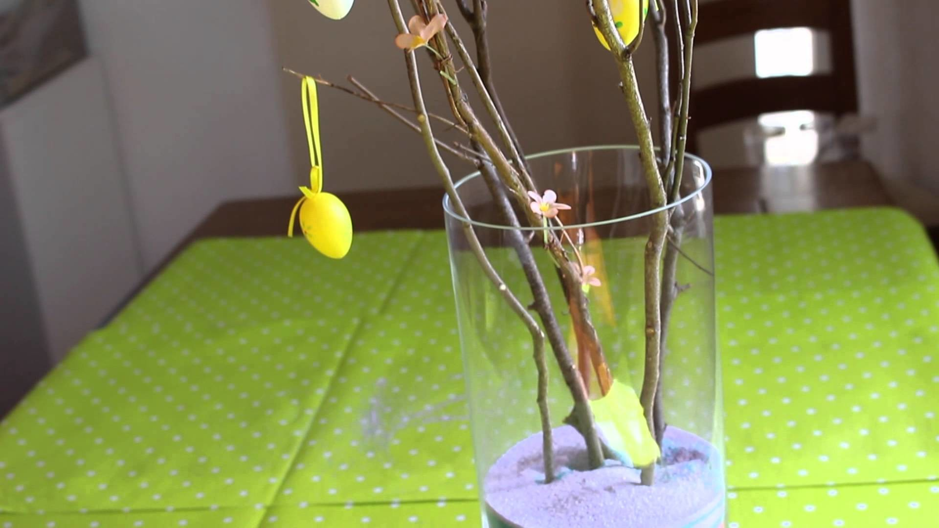 Cute and easy Easter room decoration. DIY ♡