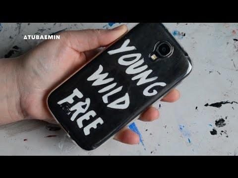 DIY B.A.P Young Wild & Free Cell Phone Case