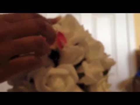 DIY Easy and Simple Flower Ball  (Pomander)