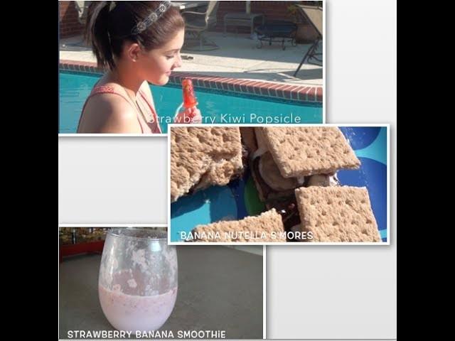 DIY Easy Spring.Summer Snacks
