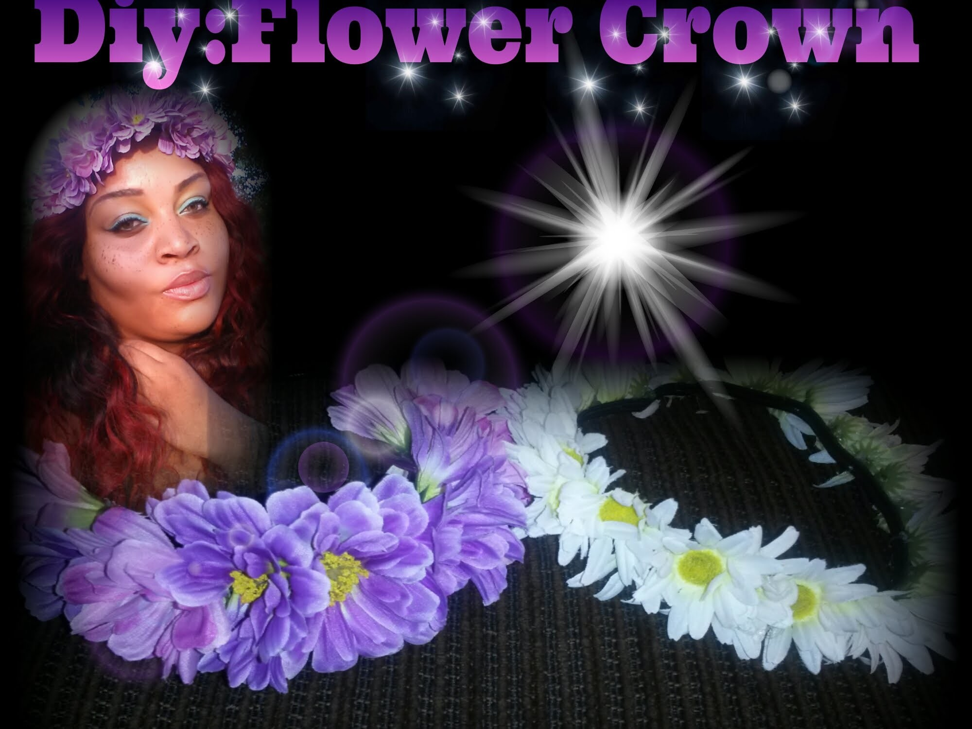DIY: FLOWER CROWN | EASIEST FLOWER CROWN EVER
