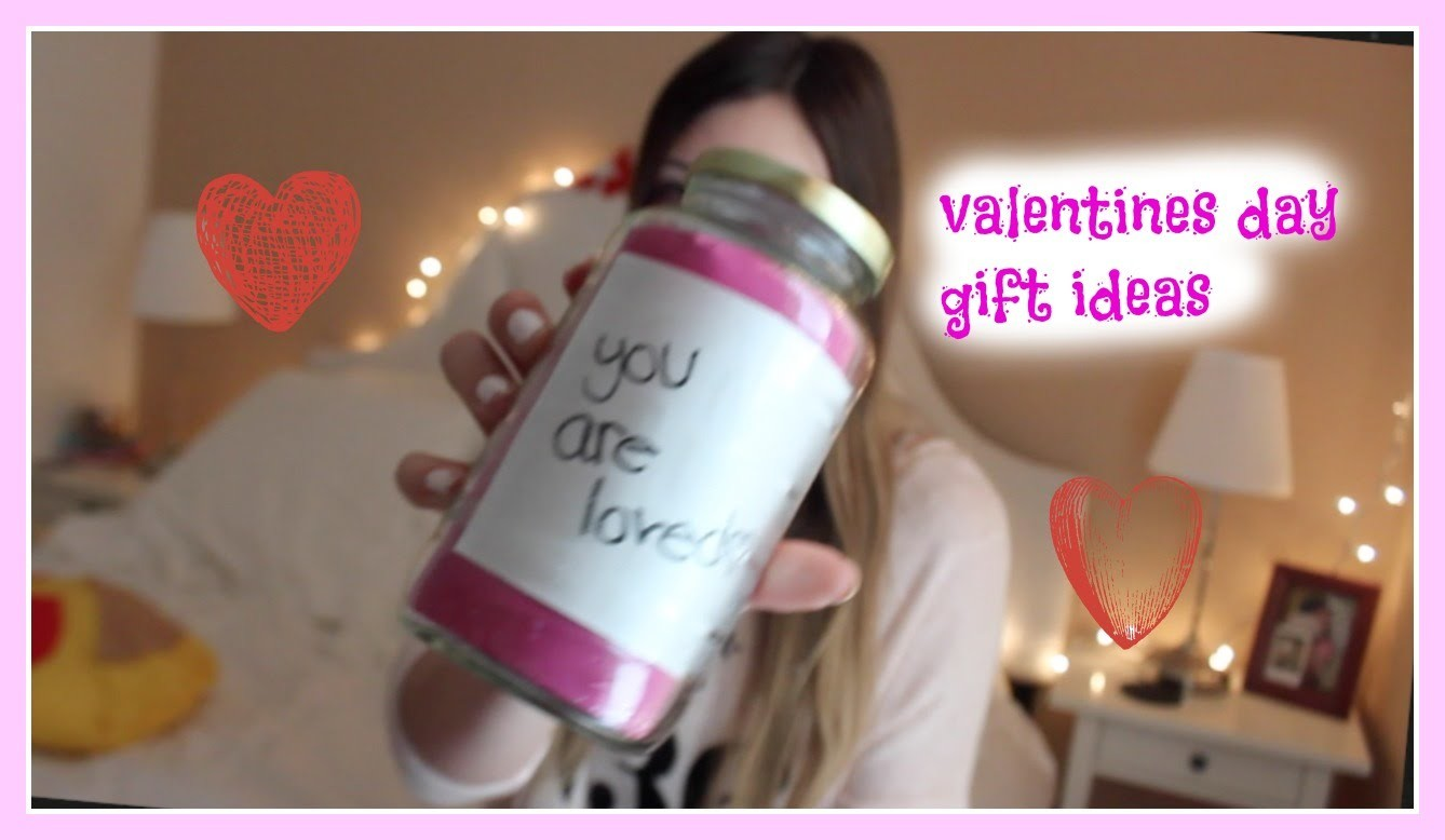 DIY gift ideas for valentines day!