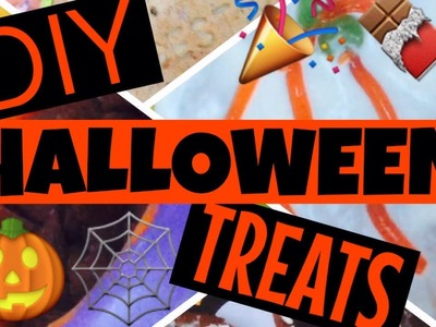 DIY HALLOWEEN TREAT IDEAS!