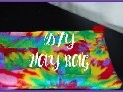 DIY Hay Bag │Alexandriasanimals