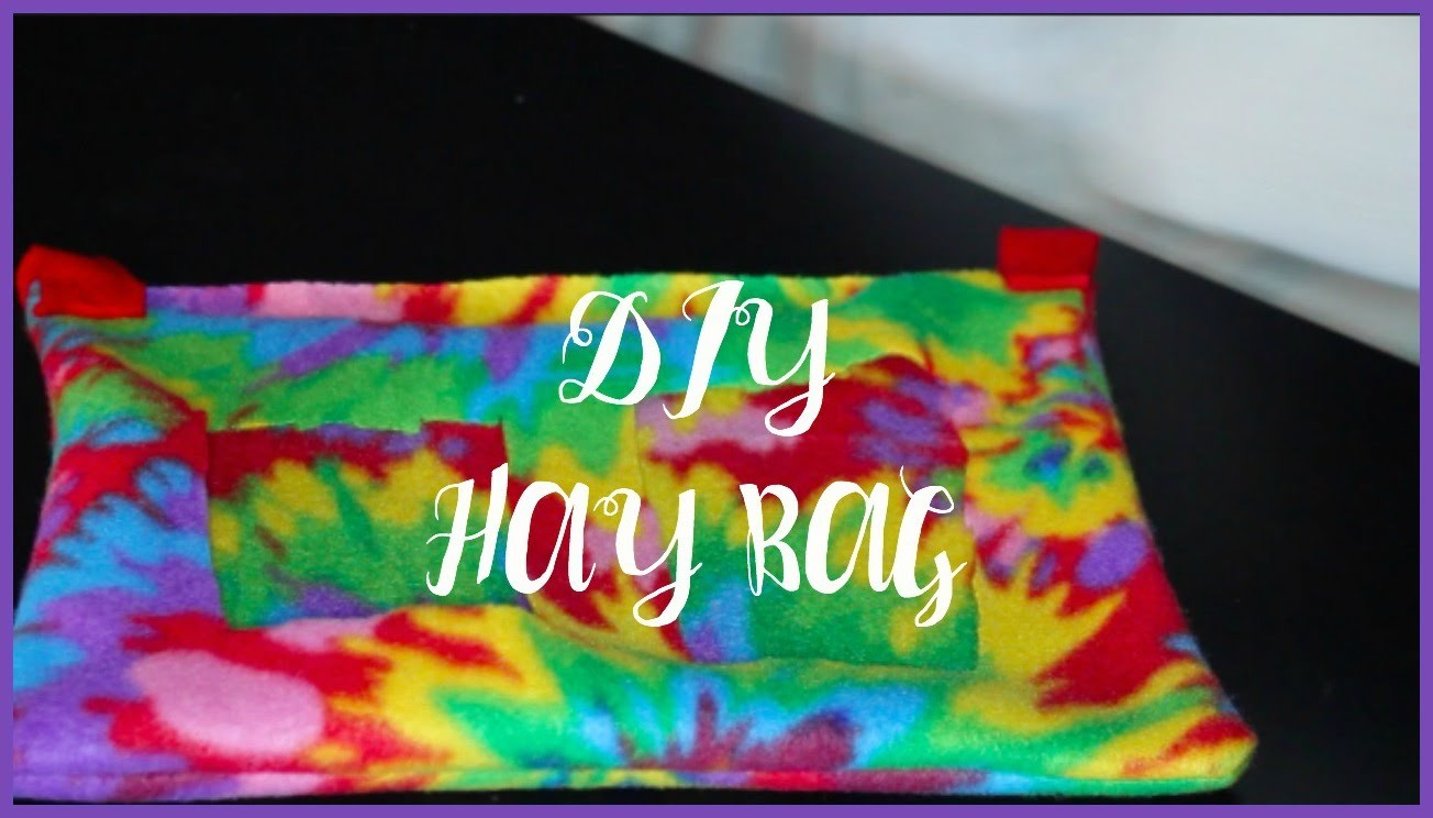 DIY Hay Bag │Alexandriasanimals