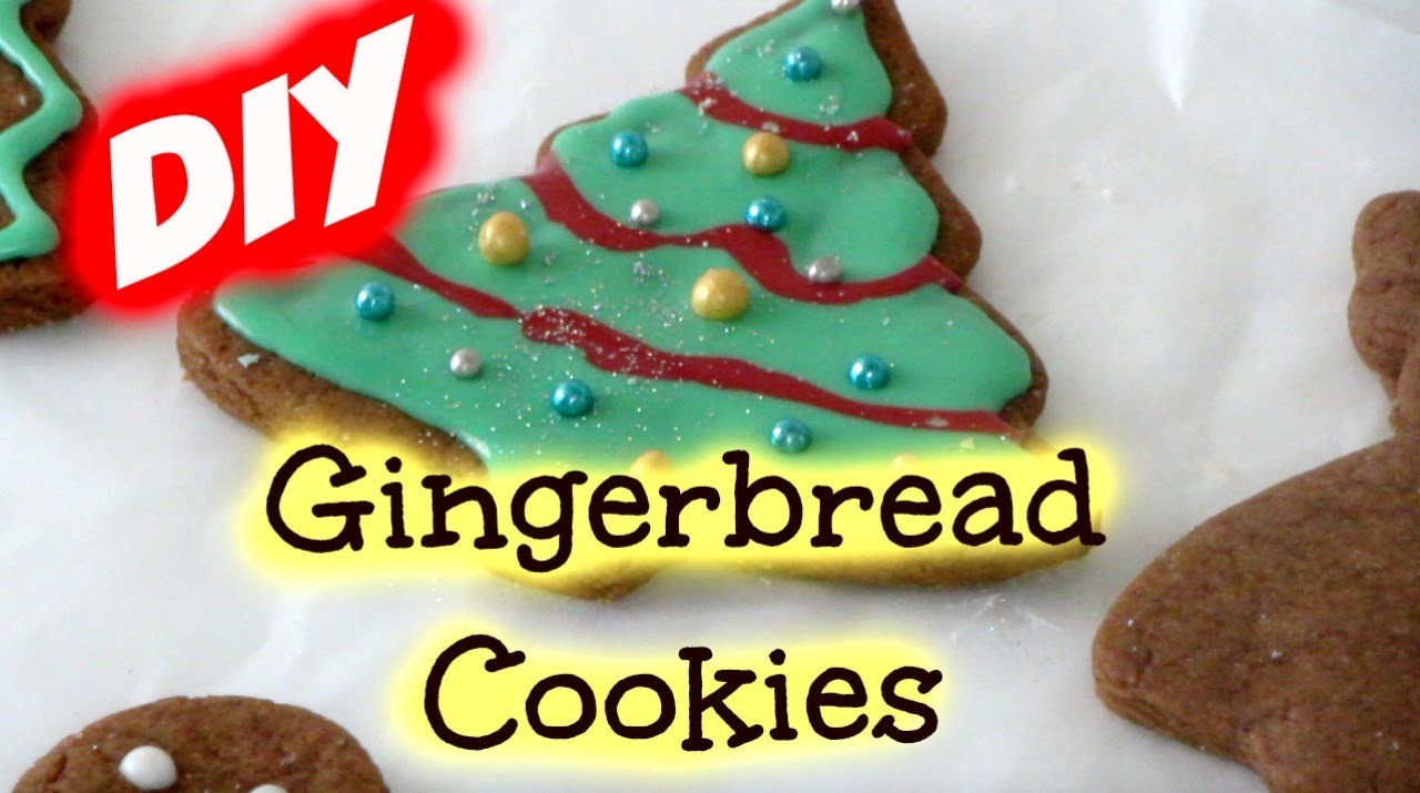 DIY: How to bake and decorate Gingerbread Cookies