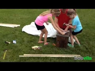 DIY Kids: Make an Easy A-Frame Tent