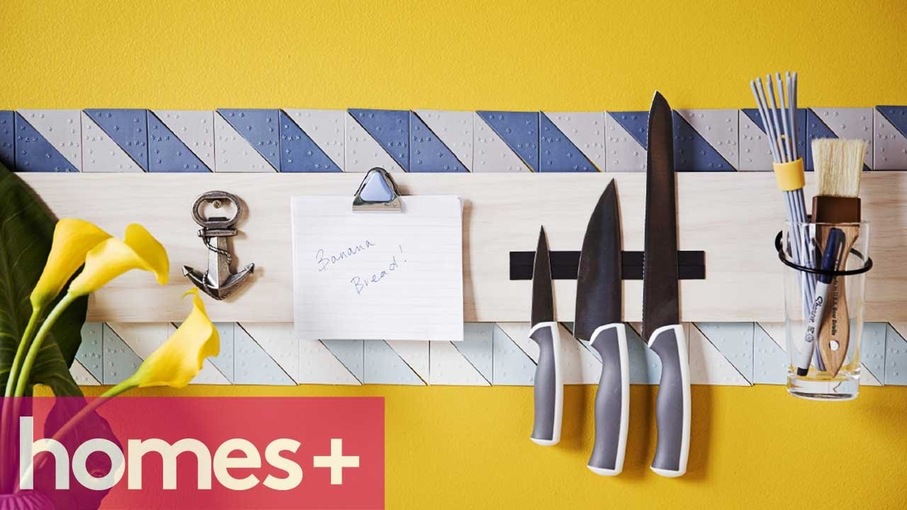 DIY PROJECT: Utensil holder - homes+