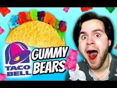 DIY Taco Bell Gummy Bears! | How To Make Taco Meat Flavored Candy!