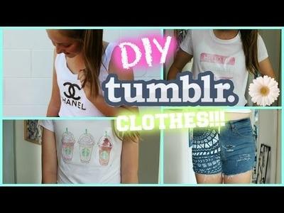 DIY Tumblr Clothes!!!. under $10!