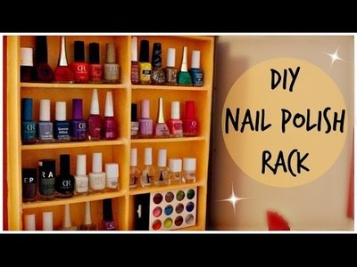 ENG.ROM:DIY Nail Polish Rack | Suport Pentru Oje | Collab w. Rudy`s View