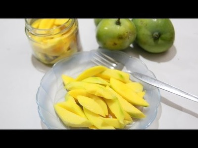 How To Make Your Own Easy Pickled Mango - DIY Food & Drinks Tutorial - Guidecentral
