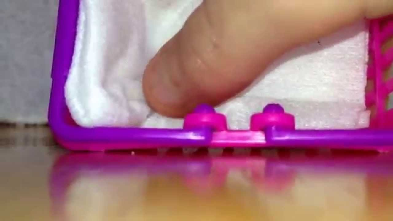 LPS-DIY Baby crib ❤️