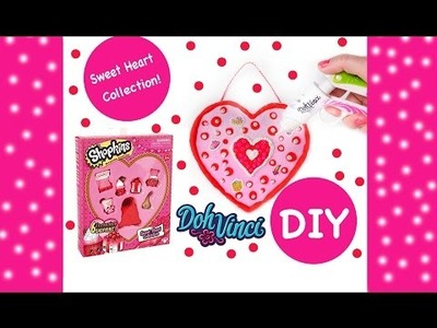 Shopkins Sweet Heart Collection Plus Valentines Day Heart Craft DIY DohVinci Playdoh - MLP Surprise!