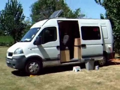 19. First Trial on CC Site, May 2010, Using the self build DIY campervan.