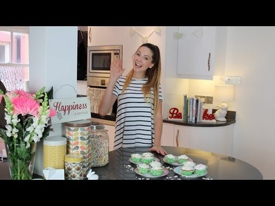 #ad | HOW TO: Baking Cupcakes with Zoella!