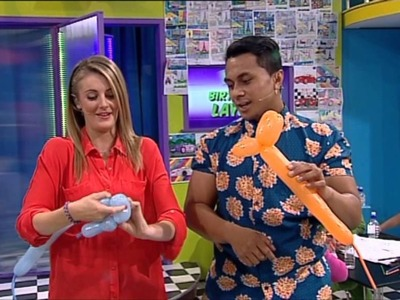 Arty Farty- How to make a Balloon Dog!