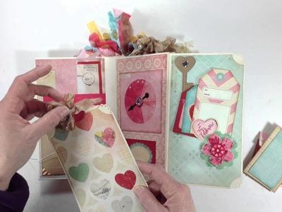 "Crate Paper ""14"" Vertical Paper Bag Mini Album"