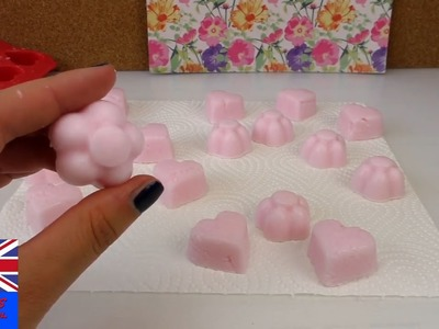 Diy easy soap making - How To Make Cute Heart and Flower Soap At Home - Easy Tutorial