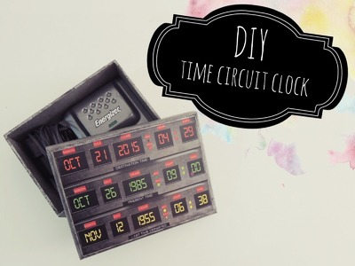 DIY   Especial: Back to the Future