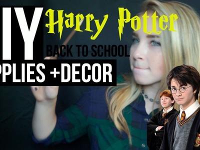 DIY Harry Potter School Supplies + Decor (GIVEAWAY WINNER)