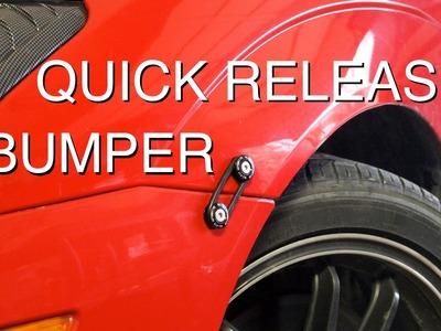 DIY: Install Quick Release Bumper Fasteners