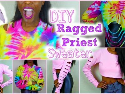 DIY Slashed Sweater | Ragged Priest Inspired | Tashalala