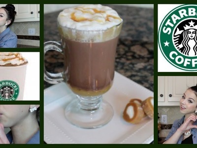 DIY! Starbucks Salted Caramel Hot Chocolate!