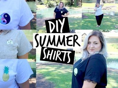 DIY Tumblr Inspired Shirts!   Plus Size!