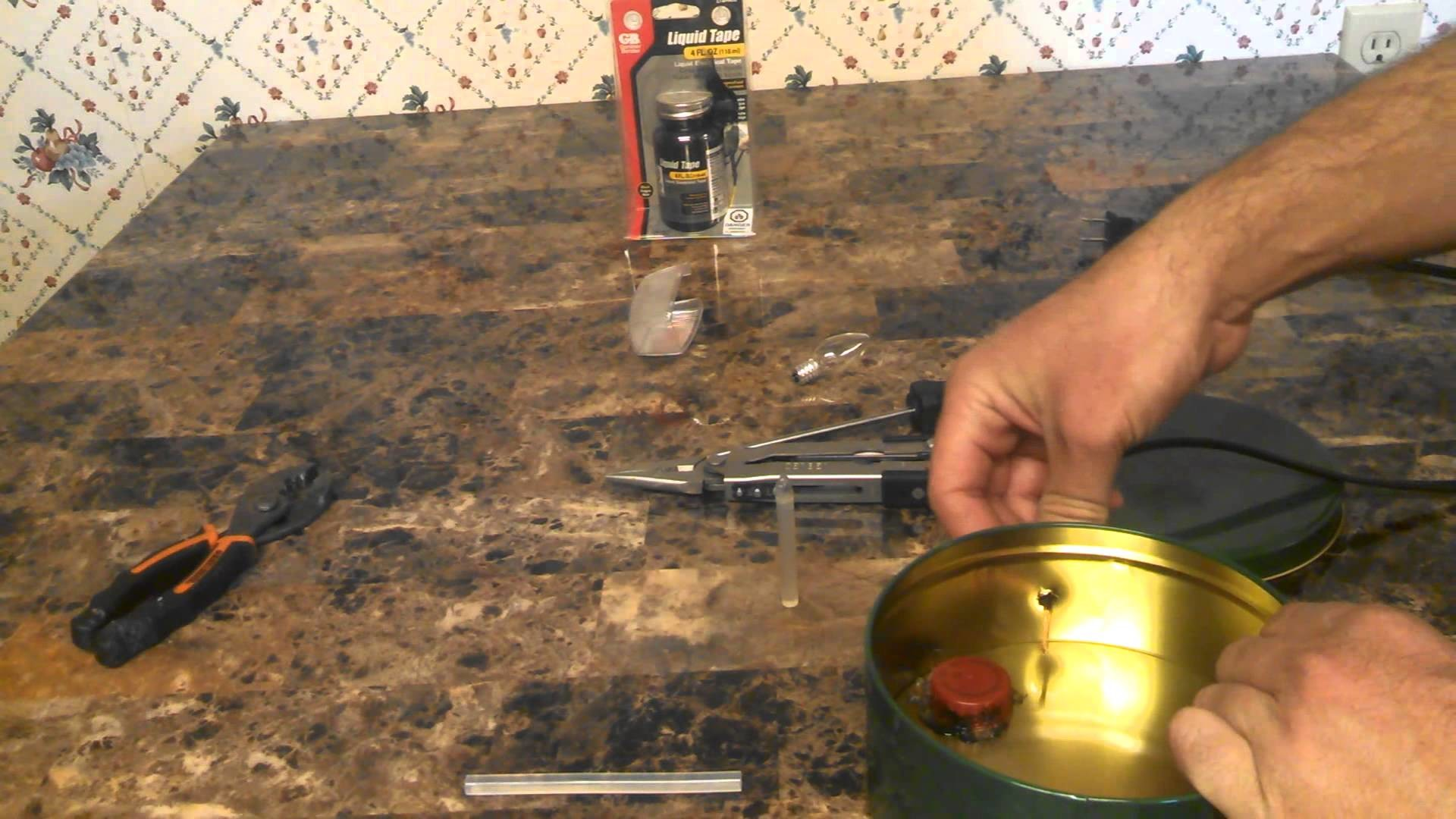 DIY Water Heater for Chicken Coop