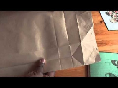 Donna's Staggered paperbag mini tutorial, version 2