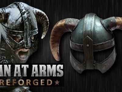 Dragonborn's Iron Helmet (Skyrim) - MAN AT ARMS: REFORGED