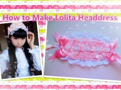 Easy Kawaii DIY - How to Make Sweet Lolita Headdress - Designs By Yumi