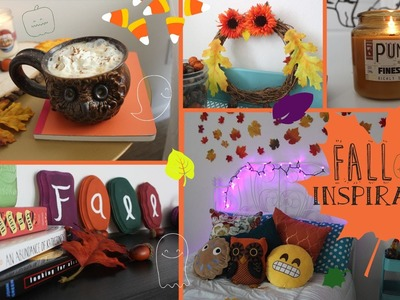 FALL INSPIRATION!♡ DIY's Decor and more!