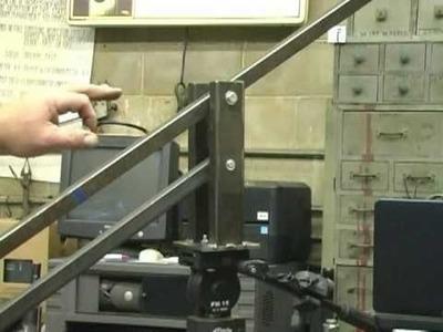 Homemade Camera Jib Crane Part 1