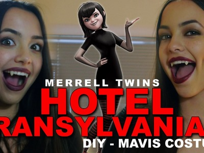 Hotel Transylvania 2  - DIY Costume for Mavis - Merrell Twins