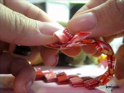 How To Close A Starburst Bracelet