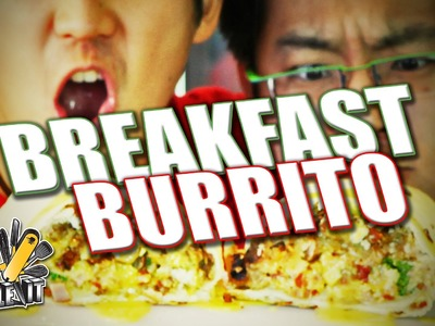 How To Cook A Breakfast Burrito - Handle It