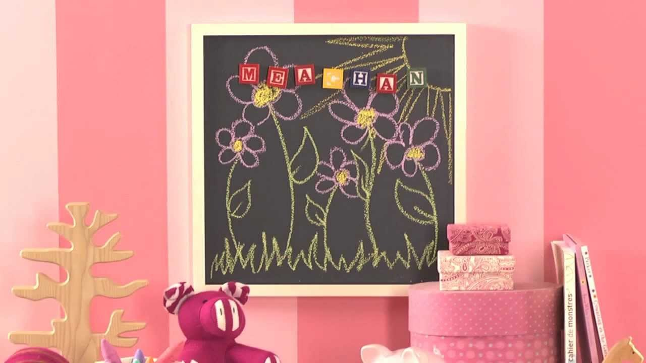 How To: Create a Magnetic Chalkboard with Benjamin Moore Natura® Paint