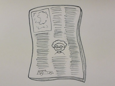 How to Draw a Newspaper