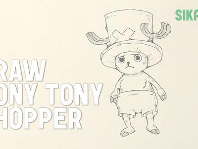 How to Draw Tony Tony Chopper (One Piece)