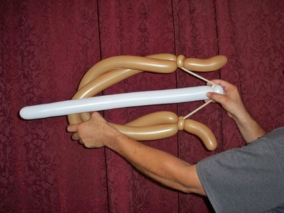 HOW TO MAKE A BOW AND ARROW BALLOON - Balloon Animal