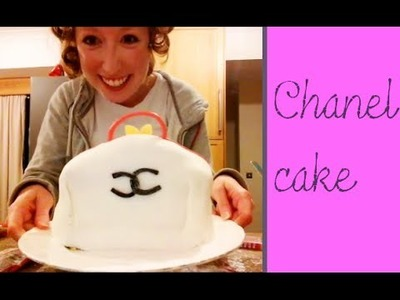 How to make a Chanel Handbag Cake  --for Cha Cha
