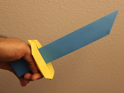 How to make a cool paper sword