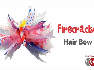How to Make a Firecracker Spike Bow - TheRibbonRetreat.com