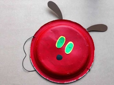 How to make a Hungry Caterpillar mask