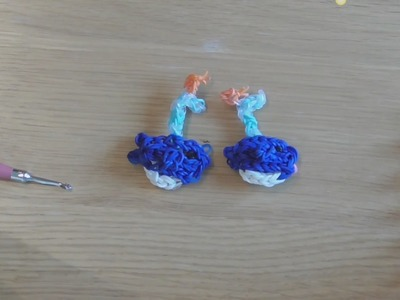 How To Make A Rainbow Loom Blue Whale