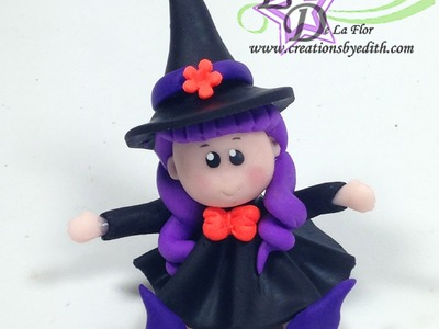 How to make a witch for halloween cupcakes or favors